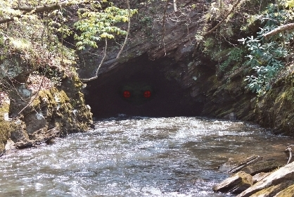Etowah Tunnel of Terror Paddle