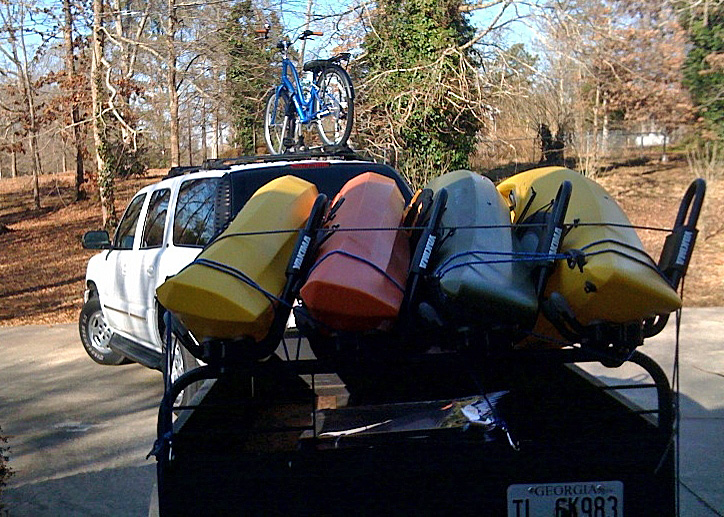 Hauling Kayaks Georgia Canoeing Association