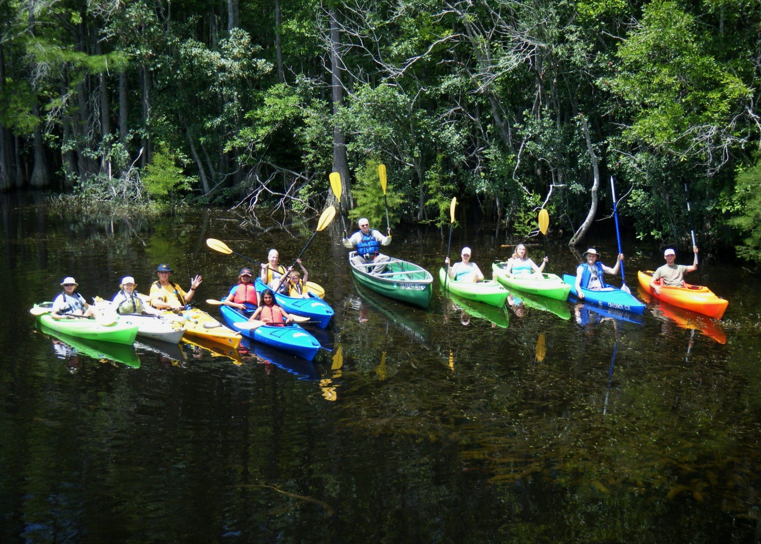 George L Smith State Park Paddle