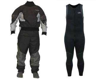 Wet Suit vs Dry Suit