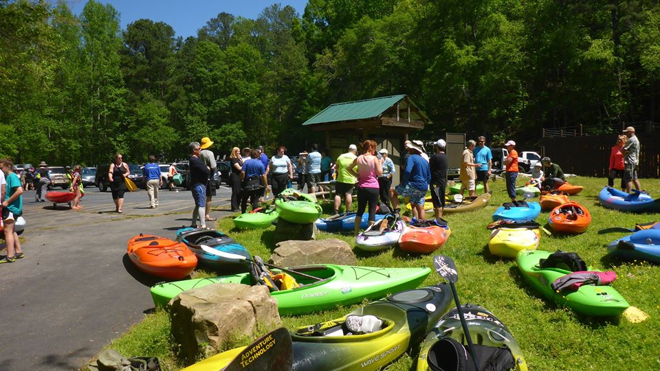 Trip Report: Great Turn-Out for Spring Membership Paddle